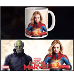 Captain Marvel Mug Duel