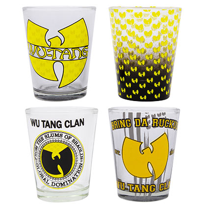 Wu-Tang Clan Four Pack Shot Glass Set