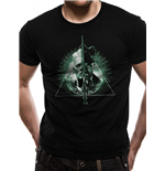 Crimes Of Grindelwald - Deathly Hallows Split - Unisex T-shirt Black