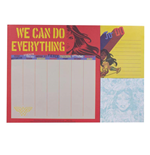 Wonder Woman Desk Pad Weekly Planner A4