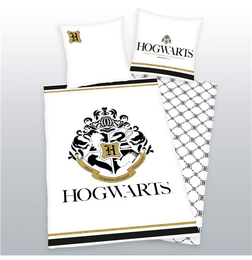 Harry Potter Duvet Set Hogwarts (Gold) 135 x 200 cm / 80 x 80 cm