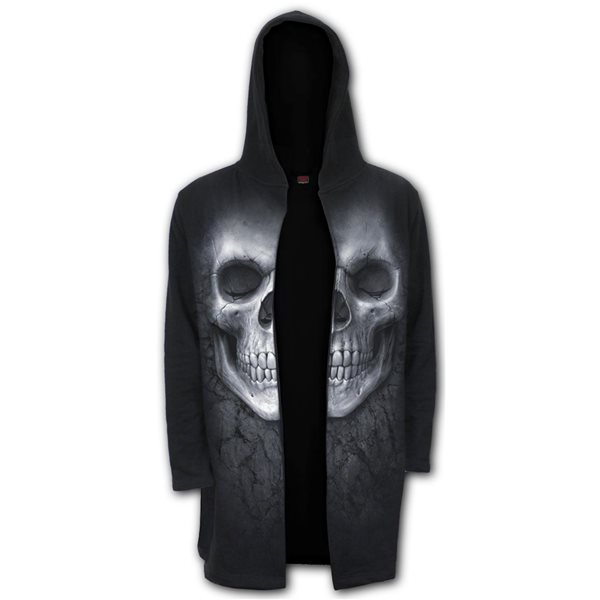 Solemn Skull - Occult Hooded Cardigan