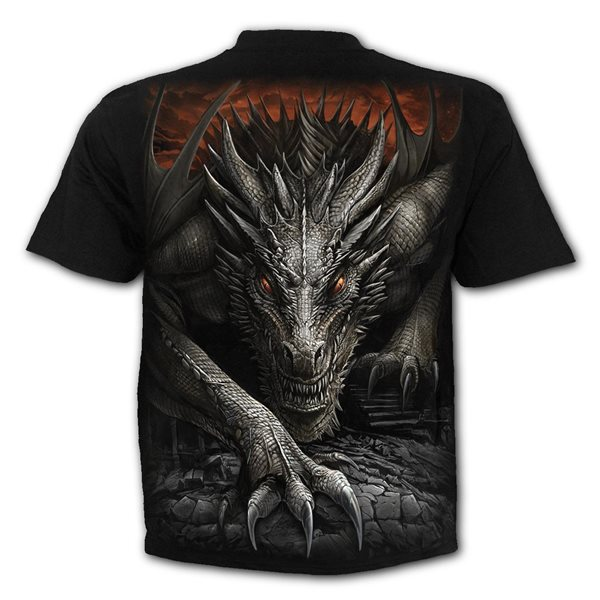 Majestic Draco - T-Shirt Black