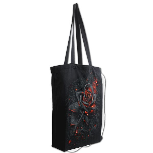 Burnt Rose - Bag 4 Life - Canvas 80z Long Handle Tote Bag