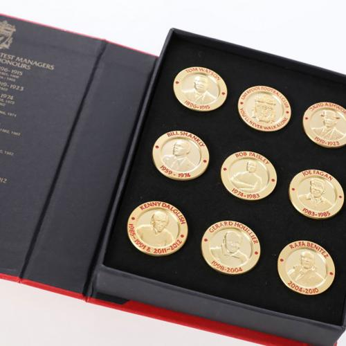 Liverpool F.C. 9 Piece Limited Edition Badge Set