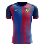 2018-2019 Barcelona Fans Culture Home Concept Shirt