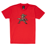 OVERWATCH McCree Pixel T-Shirt, Unisex, Medium, Red