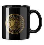 MONSTER HUNTER Vintage Emblem Badge Mug, 320ml, Black