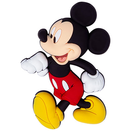 Mickey Mouse Walking Soft Touch Magnet