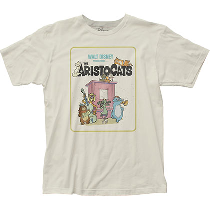 Aristocats Classic Movie Poster Tshirt