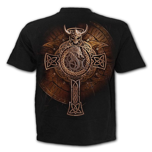 Viking Shield - T-Shirt Black