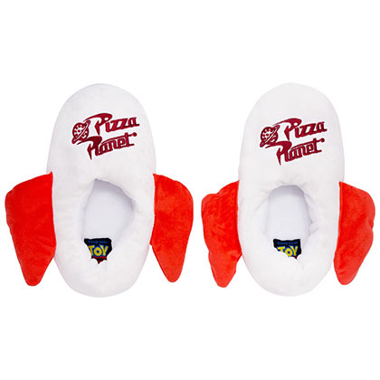 TOY STORY Pizza Planet White Slippers