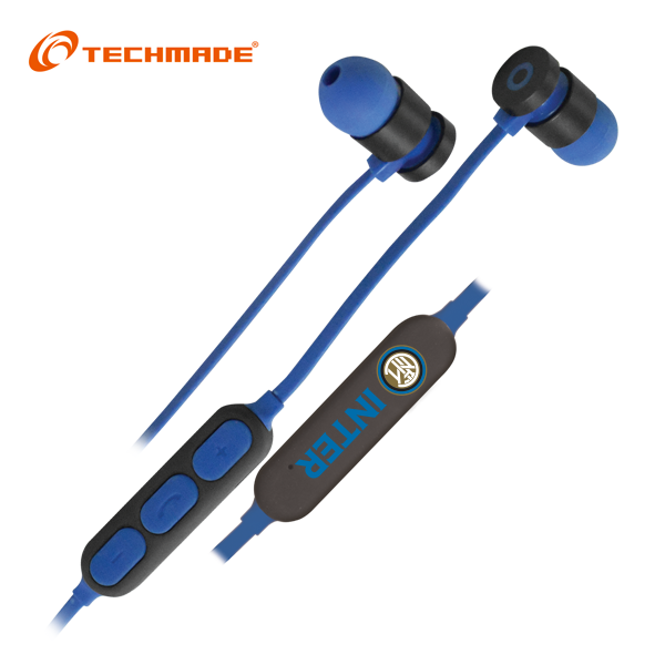 FC Inter Milan Techmade Bluetooth Earphones