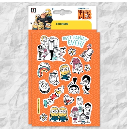 Despicable me - Minions Sticker 344344