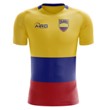 2018-2019 Colombia Flag Concept Football Shirt (Kids)