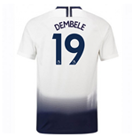 2018-2019 Tottenham Home Nike Football Shirt (Dembele 19)