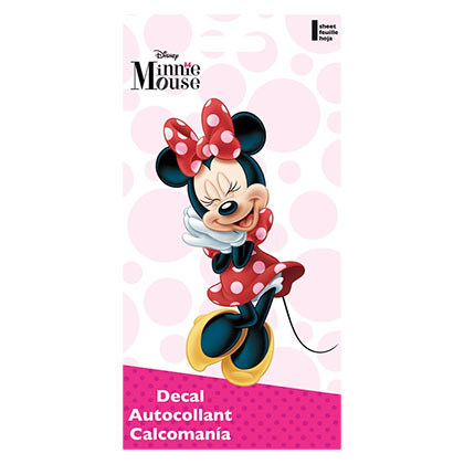 Minnie Mouse 4x8 Decal