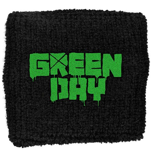 Green Day Sweatband: Logo (Loose)