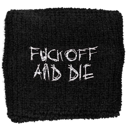 Darkthrone Sweatband: Fuck Off And Die (Loose)