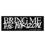 Bring Me The Horizon Standard Patch: Horror Logo (Loose)