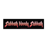 Black Sabbath Super Strip Patch: Sabbath Bloody Sabbath (Retail Pack)