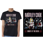 Motley Crue Unisex Tee: Shout at the Devil