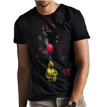 It - Lurking Clown - Unisex T-shirt Blue