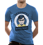 Batman - Designated Wing Man - Unisex T-shirt Blue