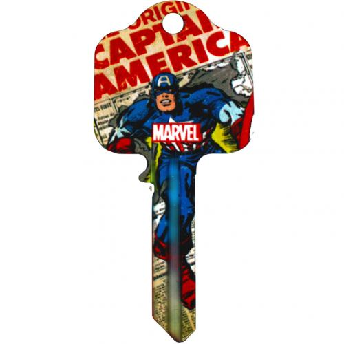 Marvel Comics Door Key Captain America