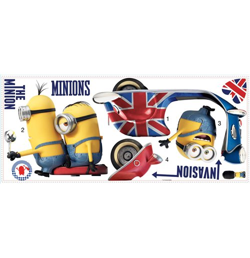 Despicable me - Minions Sticker 345211