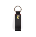 Ferrari Leather Keychain