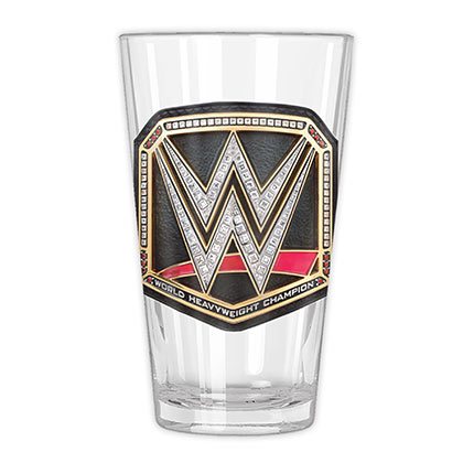 WWE Championship Belt Pint Glass