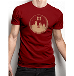 Harry Potter - Snowglobe - Unisex T-shirt Red