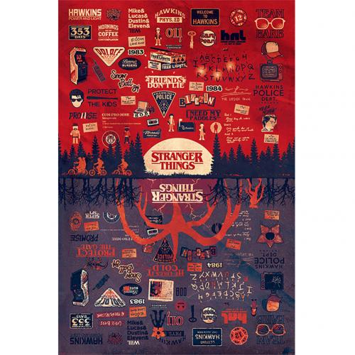 Stranger Things Poster The Upside Down 145