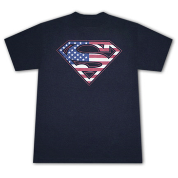Buy Superman American Flag Usa Logo Stars Stripes