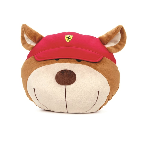 Ferrari Teddy Bear Cushion