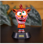 Crash Bandicoot 3D Icon Light Crash Bandicoot 10 cm