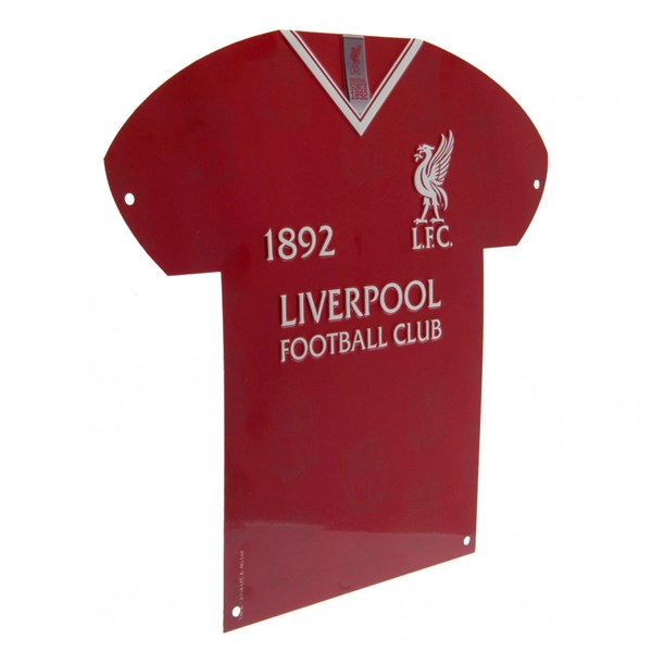 Liverpool F.C. Metal Shirt Sign LB