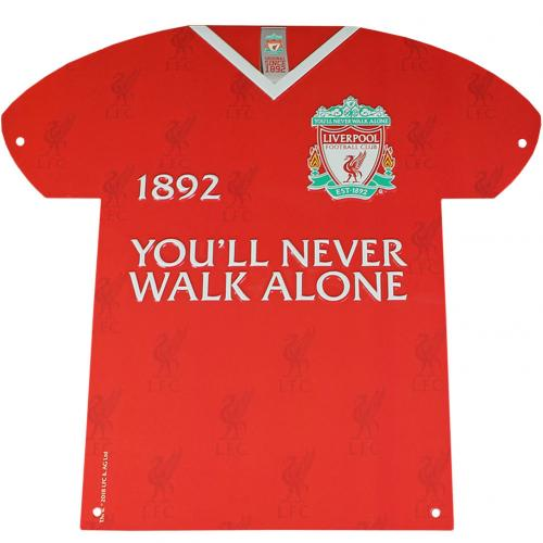 Liverpool F.C. Metal Shirt Sign CR