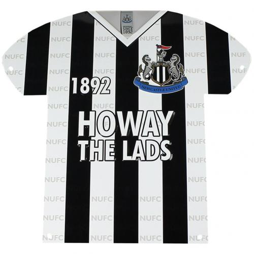 Newcastle United F.C. Metal Shirt Sign