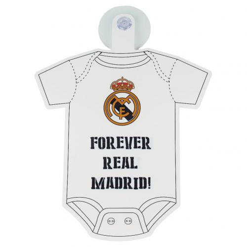 Real Madrid F.C. Baby On Board Sign