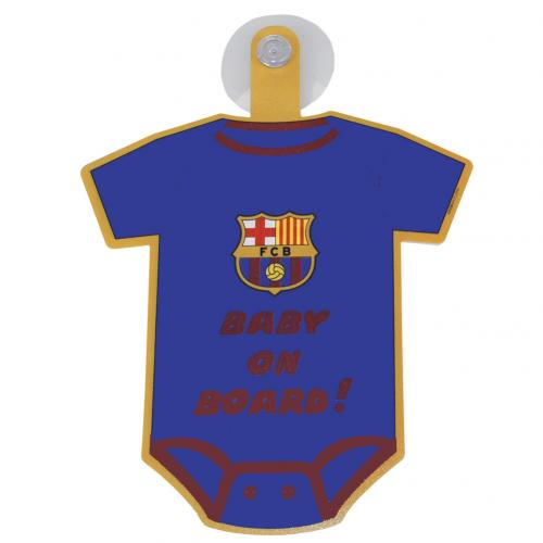 F.C. Barcelona Baby On Board Sign