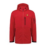 Ferrari Red Rain Jacket with Hoody