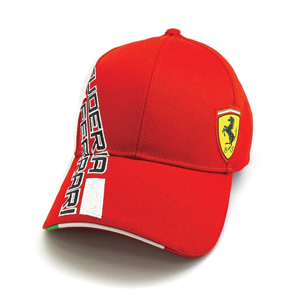 Ferrari Men's Red Cap