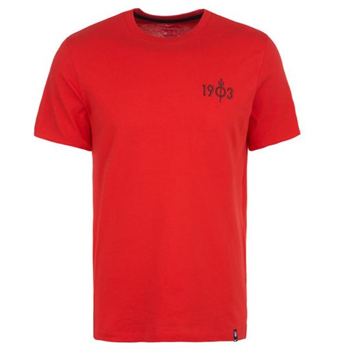 2019-2020 Atletico Madrid Nike Kit Story Tee (Red)