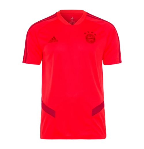 2019-2020 Bayern Munich Adidas Training Shirt (Red)