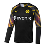 2019-2020 Borussia Dortmund Third Goalkeeper Shirt Black (Kids)