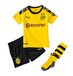 2019-2020 Borussia Dortmund Home Little Boys Mini Kit