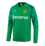 2019-2020 Borussia Dortmund Home Goalkeeper Shirt Green (Kids)