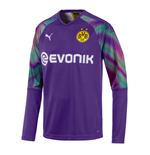 2019-2020 Borussia Dortmund Away Goalkeeper Shirt Purple (Kids)